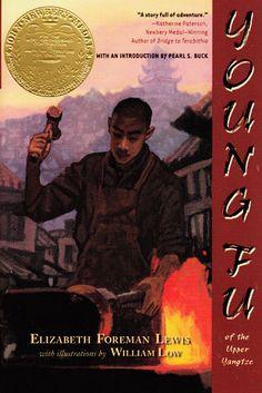 Young Fu of the Upper Yangtze by Elzabeth Foreman Lewis. Newbery Medal winner 1933.