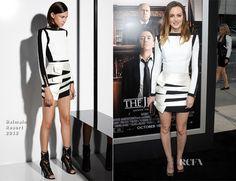 Leighton Meester In Balmain - 'The Judge' LA Premiere - Red Carpet Fashion Awards