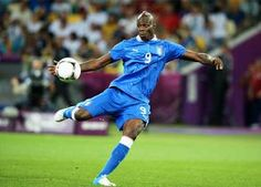 Mario Balotelli - Italy Forward. Scored his 2nd goal of the match to put Italy ahead 2-0 vs Germany, in a match Italy eventually won 2-1 to claim a spot in the EURO 2012 final.