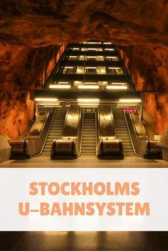 Dass Stockholms U-Bahnsystem so beeindruckend sein würde, hatte ich nicht erwartet. Ich hatte mich darauf eingestellt, pompöse Paläste der Königsfamilie, viele Brücken und vor allem ganz viel Wasser zu sehen. Zwei Tage lang hatte ich auch genau darauf den Schwerpunkt gelegt. An meinem letzten Tag wollte ich aber etwas ganz besonderes erleben: Also habe ich mich bewusst dafür entschieden, mehrere Stunden in Stockholms U-Bahnsystem namens Tunnelbana oder kurz T-bana zu verbringen.