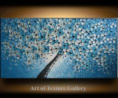 SALE SALE 48 x 24 Large Ready Ship Oil Impasto by artoftexture