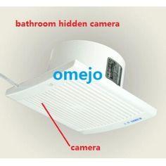 Hidden Camera In Bathroom, Spy Camera Bathroom, Hidden Spy Camera, Spy Shop, Cell Phone App, Spy Tools, Bathroom Exhaust Fan, Pinhole Camera