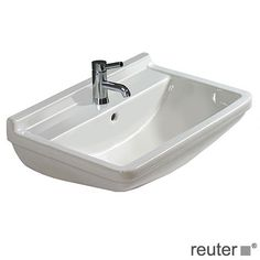 Duravit Starck 3 Waschtisch weiß mit 1 Hahnloch mit Überlauf 0300600000