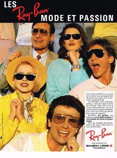 1986 Ray Ban Roland Garros