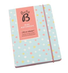 A6 Notebook (Blue dot) - All Products - Products - Busy B