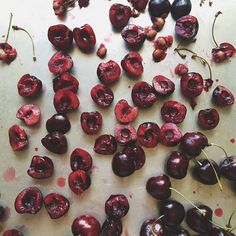 Put a Filter on It: Cherries on Food52 (Photo: @edibleash)