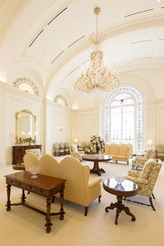 Celestial room in the Fort Collins Colorado Temple.