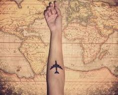 travel tattoo, matches perfectly for me :P lol
