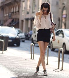 Short skirt outfit ideas – Modern skirts blog for you