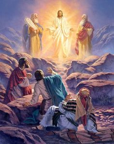 The Transfiguration Of Christ 1000+ ideas about transfiguration of jesus on pinterest ... Jesus Art, Jesus Christ Images, Bible Pictures, Bible Images, Jesus Pictures, Religious Pictures, Bible Art, La Bible, Jesus Is Lord