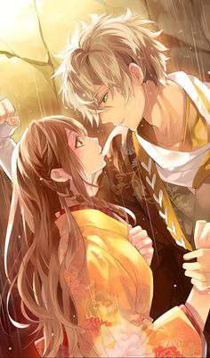 Anime Couples I see you, that's the way to get a girl attention! Anime Boys, Couple Anime Manga, Couple Amour Anime, Anime Love Couple, Anime Couples Manga, Cute Anime Couples, Manga Anime, Romantic Anime Couples, Girl Couple