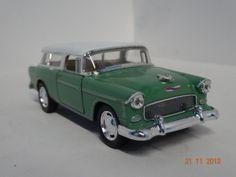 Carro colección Chevy Nomad 1955 color Verde Manzana. #RegalosParaEllos #RegalosNavidad2013