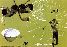 Max-Huber-La-Rinascente-golf-1951-couverture-catalogue