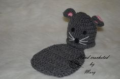 Mouse Critter Set by MarysCrochetdesigns on Etsy, $25.00