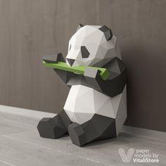 PDF Papercraft Panda