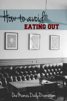 How to avoid eating