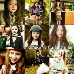 Mackenzie Foy as Renesmee Cullen:)