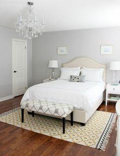 Die 48 besten Bilder von Schlafzimmer Wandfarbe Grau   Gray bedroom ...