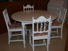 Beautiful Hand Painted Round Farmhouse Shabby Chic Scrub Top Table And  Chairs | Pinterest | Scrub Tops, Beautiful Hands And Shabby