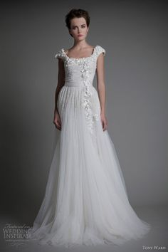 tony ward wedding dresses 2013 bridal fleur d oranger gown