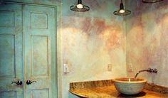 Stephanie Tyree of Atlanta Faux Finish Faux Finishes For Walls, Faux Walls, Wall Finishes, Textured Walls, Pintura Patina, Glitter Paint For Walls, Glitter Vinyl, Stencils, Damask Stencil