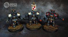 Black Templars Centurions, maybe better black for sisters