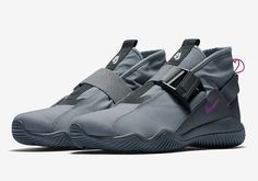 """The NikeLab ACG 07 KMTR releases on in two brand new colorways. For a detailed look at both the """"Cool Grey"""" and """"Golden Beige"""", tap the link in our bio. Grey Sneakers, Sneakers Fashion, Shoes Sneakers, Cool Mens Sneakers, Men's Shoes, Nike Shoes, Shoe Boots, Supra Shoes, Sneaker Bar"""