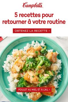 Enjoy our delicious quick and easy dinner recipes that you can cook up in 30 minutes or less. Quick and easy recipes that your family will love. Quick Easy Meals, Easy Dinner Recipes, Easy Recipes, Campbells Soup Recipes, Cooking Recipes, Healthy Recipes, Honey Garlic Chicken, Pasta, Food Dishes