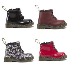 b9daf75e5df02 For cool kids taking their first steps - Dr. Martens Brooklee Boots  Rockabilly Kids