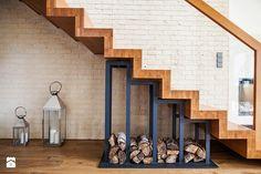 Realizacja domu jednorodzinnego. Niałek Wielki (k.Wolsztyna) - Schody, styl nowoczesny - zdjęcie od LaskowskaWnętrza