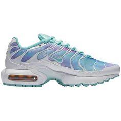 d8e1b20d29 Nike Air Max Plus - Girls Grade School Shoes White/Light Aqua Size 5.5 Nike