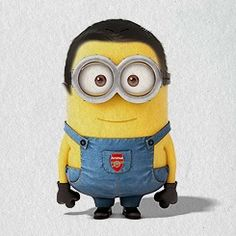 Awww a Minion Gooner (supporter of my favorite EPL team)!
