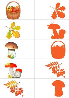 Autumn Activities For Kids, Toddler Learning Activities, Montessori Activities, Preschool Worksheets, Preschool Activities, Color Activities, Art For Kids, Crafts For Kids, Autumn Crafts