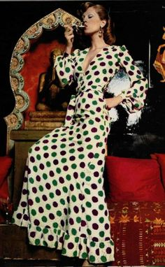 70s glam, Yves Saint Laurent 1973