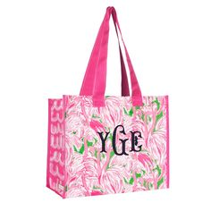 Lilly Pulitzer Market Bag - Pink Colony
