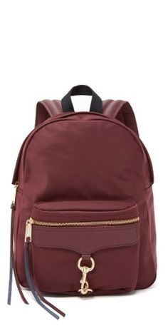 We think this Rebecca Minkoff Nylon MAB backpack is totally FAB.