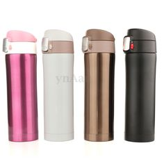 500ML Stainless Steel Travel Mug Coffee Tea Vacuum insulated Thermal Cup Bottle   Home & Garden, Kitchen, Dining & Bar, Drink Containers & Thermoses   eBay!