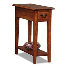 Bring a charming new look to your home with the Leick Favorite Finds Medium Oak Side End Table. It boasts a rich, hand applied Medium Oak finish, designed to complement many popular color and furnishing approaches. The table is scaled to fit anywhere, but is generous in function with surface,... more details available at https://furniture.bestselleroutlets.com/accent-furniture/end-tables/product-review-for-leick-chair-side-end-table-medium-oak-finish/