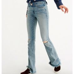 Womens Skinny Flare Jeans | Womens Bottoms | Abercrombie.com