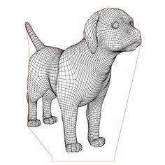 Labrador puppy dog illusion lamp vector file for CNC - Antique Lamps, Vintage Lamps, 3d Illusion Art, Lamp Logo, Ikea Lamp, Tree Floor Lamp, Street Lamp, Paint Shop, Led Night Light
