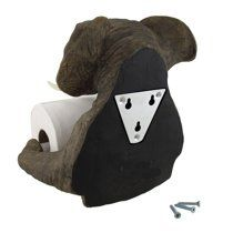 Pachyderm Servant Safari Elephant Holding Toilet Tissue Paper Holder Figurine Home Decor Great Gift For Savanna Lovers Elephant Fans Excellent Decor For Toilets Powder Rooms Image 3 of 3 Unique Toilet Paper Holder, Tissue Paper Holder, Elephant Sculpture, Wood Sculpture, Art Decor, Safari, Art Pieces, Great Gifts, Powder Rooms