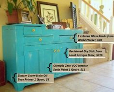 Painting Wooden Furniture – How to Make Budget Friendly Distressed Furniture