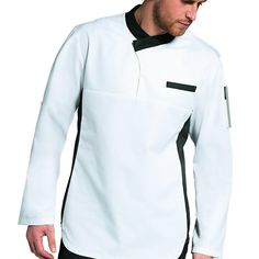 Resultado de imagen para uniformes gastronomicos Natural Face, Sewing Techniques, Work Wear, Chef Jackets, Mens Fashion, Coat, Shirts, Clothes, Chef Clothing