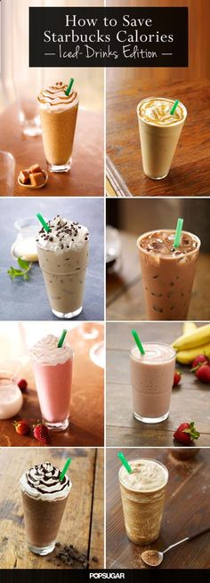 I love Starbucks! a total addiction. might as well know what to have instead of those high calorie drinks.... ,
