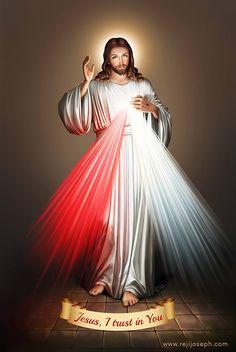 Divine Mercy image.