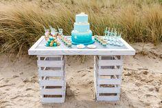 #Strand #Hochzeit #Ostsee #Tischdeko #Timmendorfer_Strand #Hochzeitskonzept #Christina_Eduard_Photography #Sweet_Table #Hochzeitstorte_strand