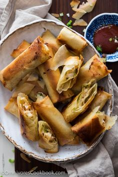 Bake your spring rolls for the Chinese New Year appetizer this year!