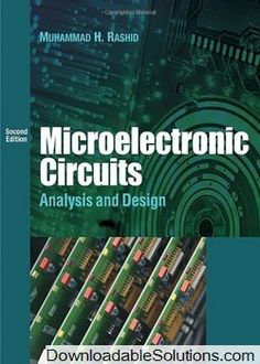 Instant download and all chapters solutions manual fundamentals of microelectronic circuits analysis and design 2nd edition rashid solutions manual download answer key test bank fandeluxe Images
