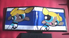 Powerpuff Girls Bubbles Duct tape Wallet. $14.00, via Etsy.