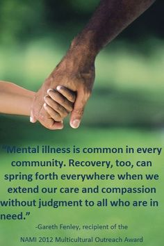 mental illness, recovery, compassion